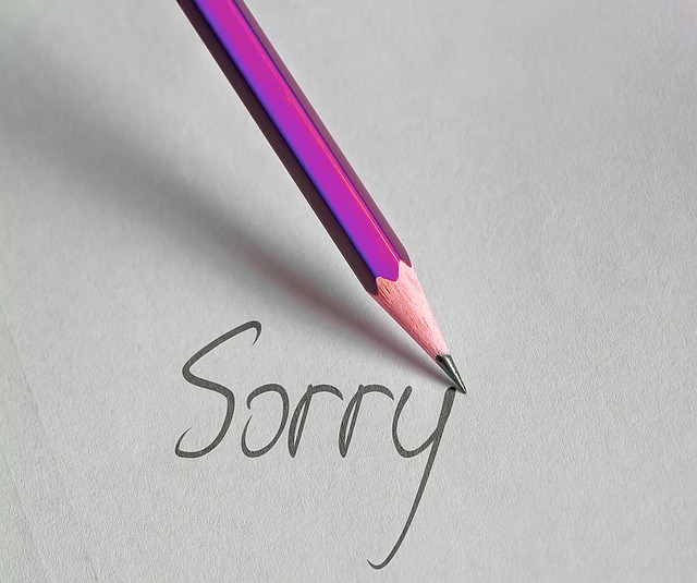 Ha megütötted, kérj bocsánatot